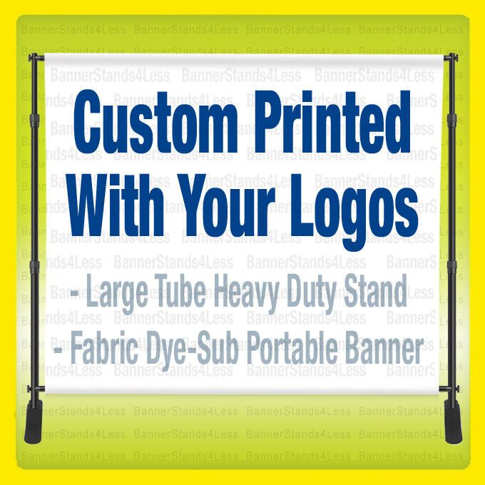 color backdrop 8x8 ft custom full color fabric step and repeat backdrop banner