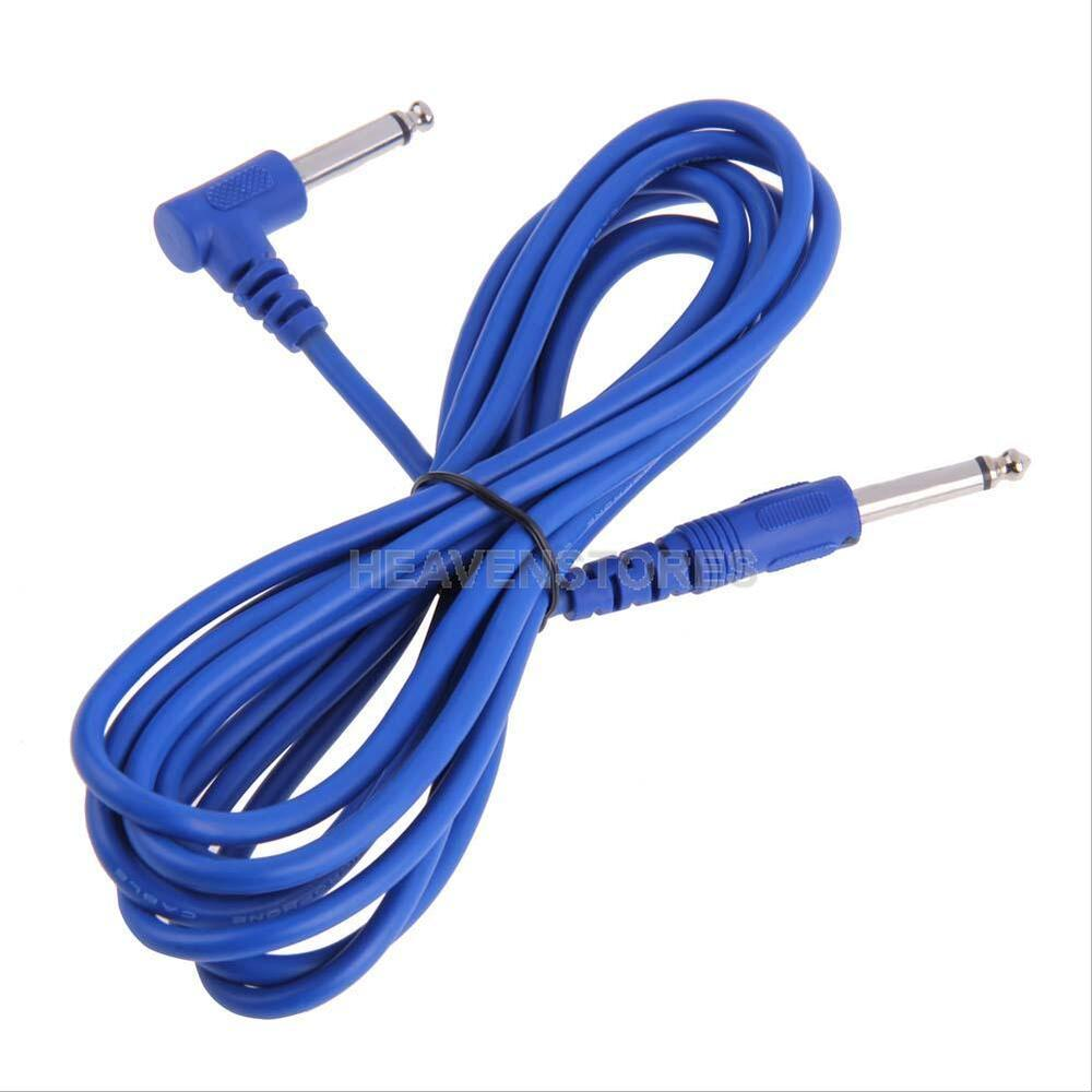 new 3m guitar bass amp amplifier lead cord cable for electric guitar blue hv2n ebay. Black Bedroom Furniture Sets. Home Design Ideas