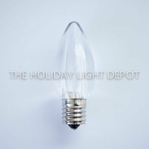 warm white c9 led christmas light bulb warm white c9 smooth led bulb ebay. Black Bedroom Furniture Sets. Home Design Ideas