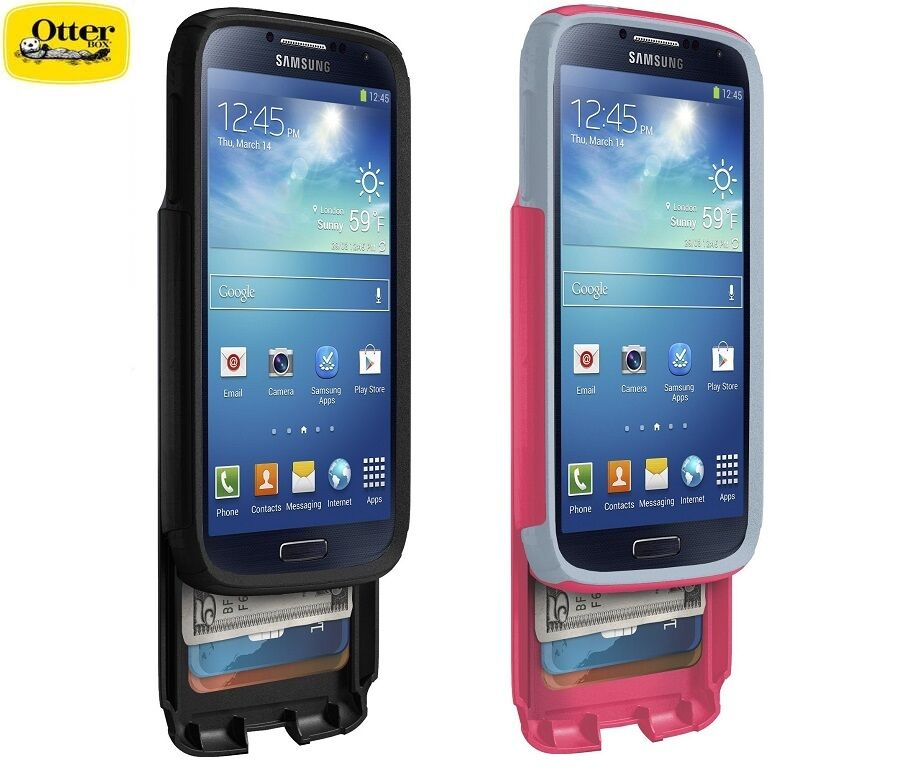 ... Authentic OtterBox Commuter Wallet Case For Samsung Galaxy S 4 : eBay