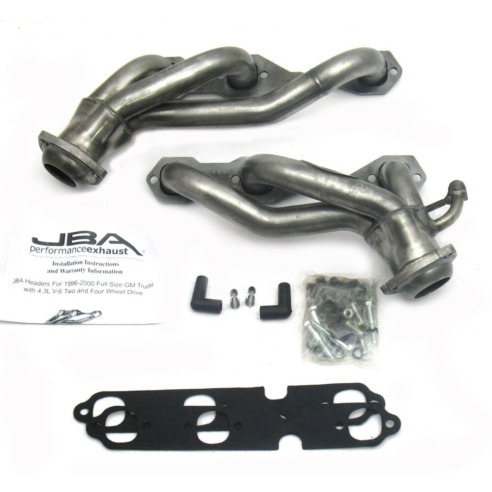 96-99 Chevrolet GMC C/K 4.3 V6 JBA Headers Stainless Steel