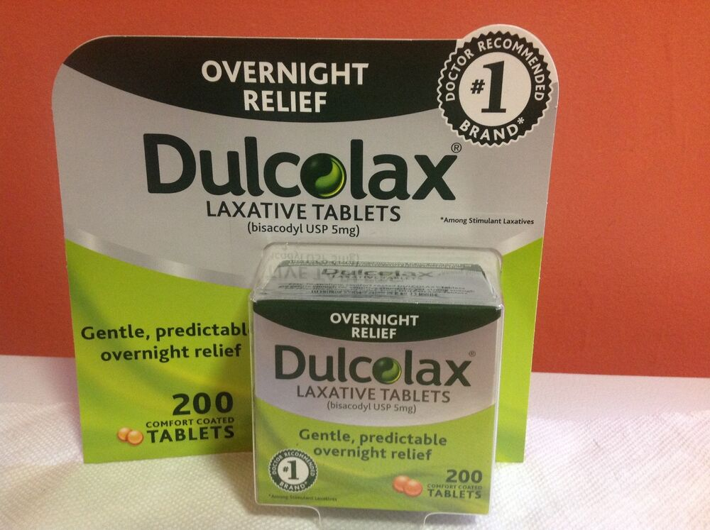 Dulcolax Oral Tablet Dosage