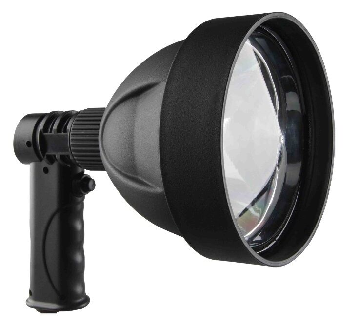 Rechargeable LED Torch 140MM 15W Flashlight Spot Light