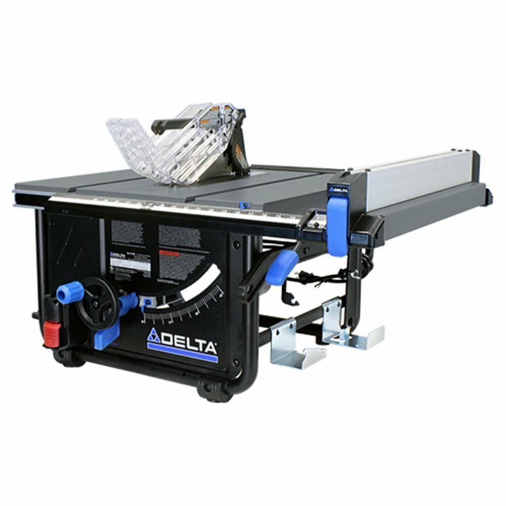 Delta 36 6010 10 Jobsite Portable Table Saw New Ebay