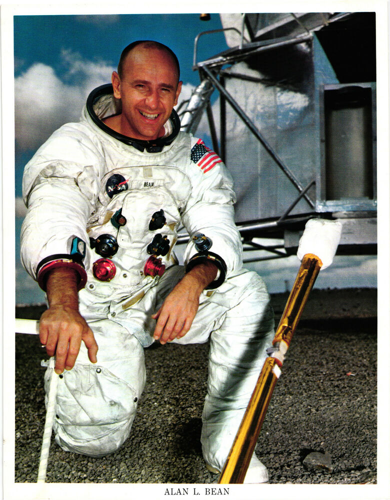 Alan L. Bean. Apollo 12 Astronaut Apollo Missions NASA ...