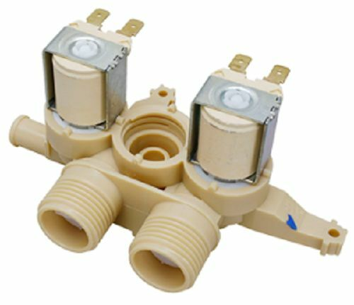 triple water valve for ge general electric washer washing machine wh13x10048 ebay. Black Bedroom Furniture Sets. Home Design Ideas