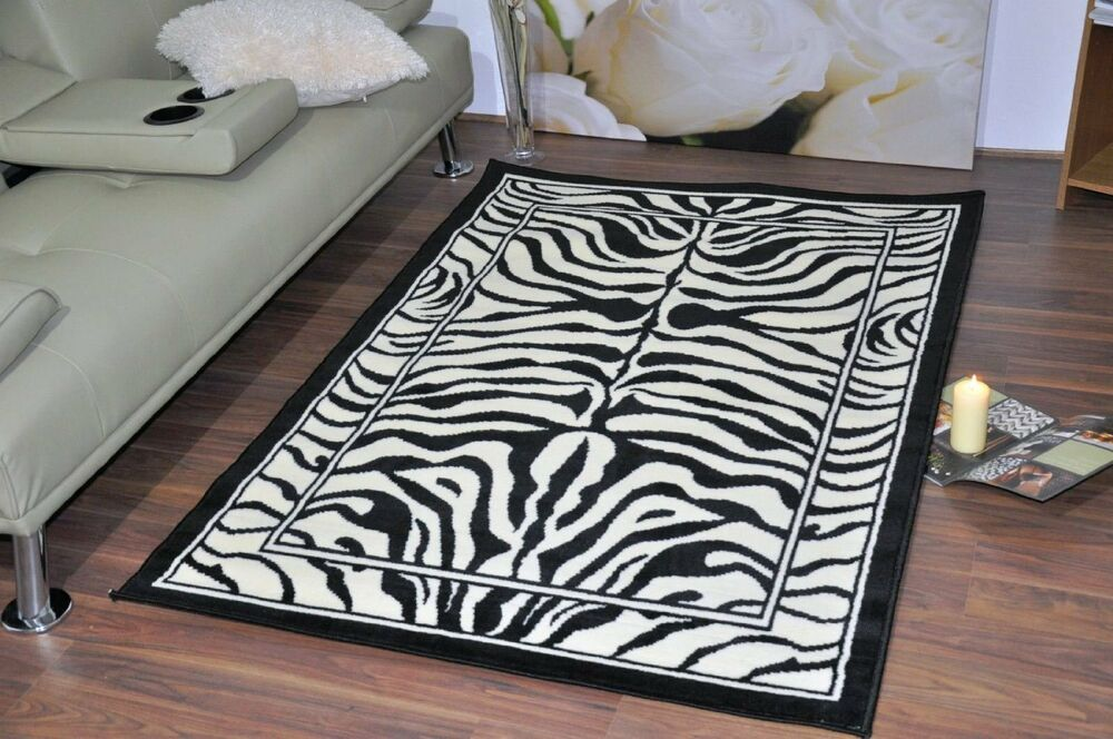 New extra large modern soft zebra animal print area rugs for Cheap contemporary area rugs