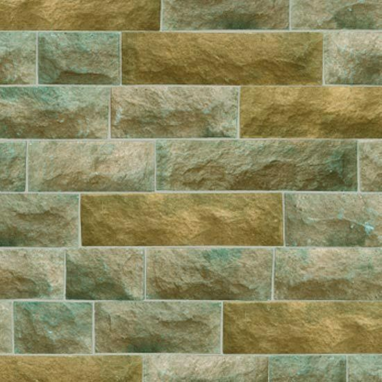 Brick Wallpaper Ideas Teal Pattern Self Adhesive Roll