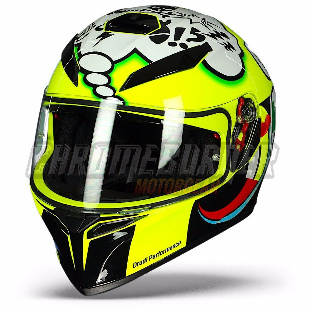 agv helmet k 3 sv valentino rossi misano 2011 motorcycle. Black Bedroom Furniture Sets. Home Design Ideas