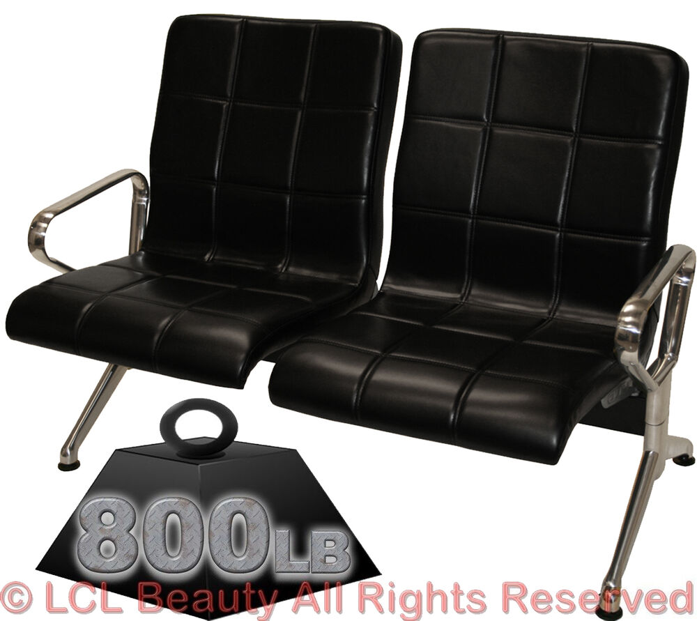 Reception chair heavy duty salon bench business office spa for Salon bench