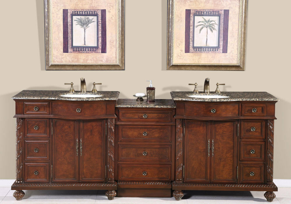 90 5 double sink vanity bathroom cabinet lavatory modular