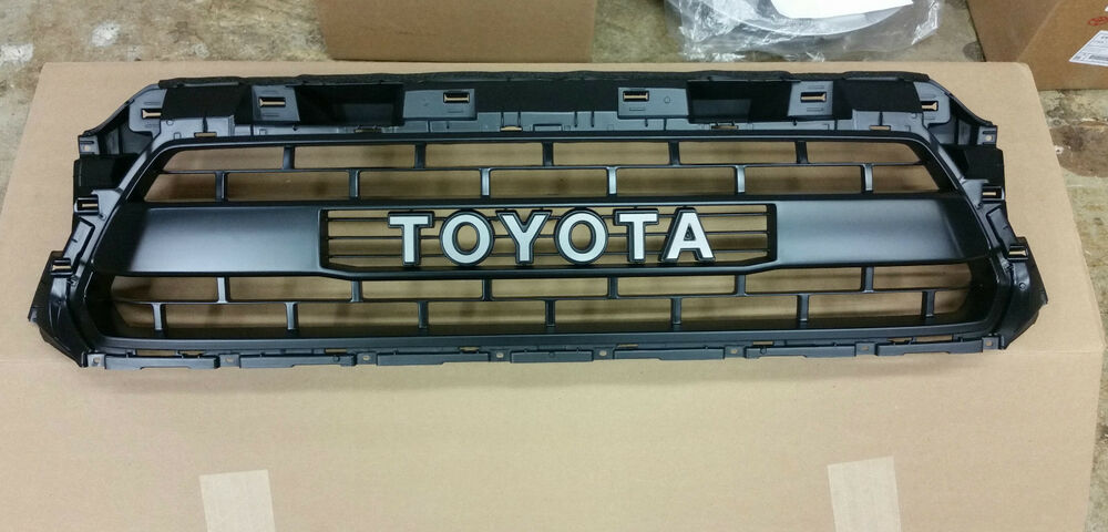 new 2015 toyota tacoma trd pro grille ebay. Black Bedroom Furniture Sets. Home Design Ideas