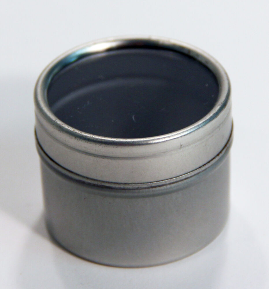 Small metal can container 1 1 2 39 39 round tin by 1 1 2 for Small tin containers