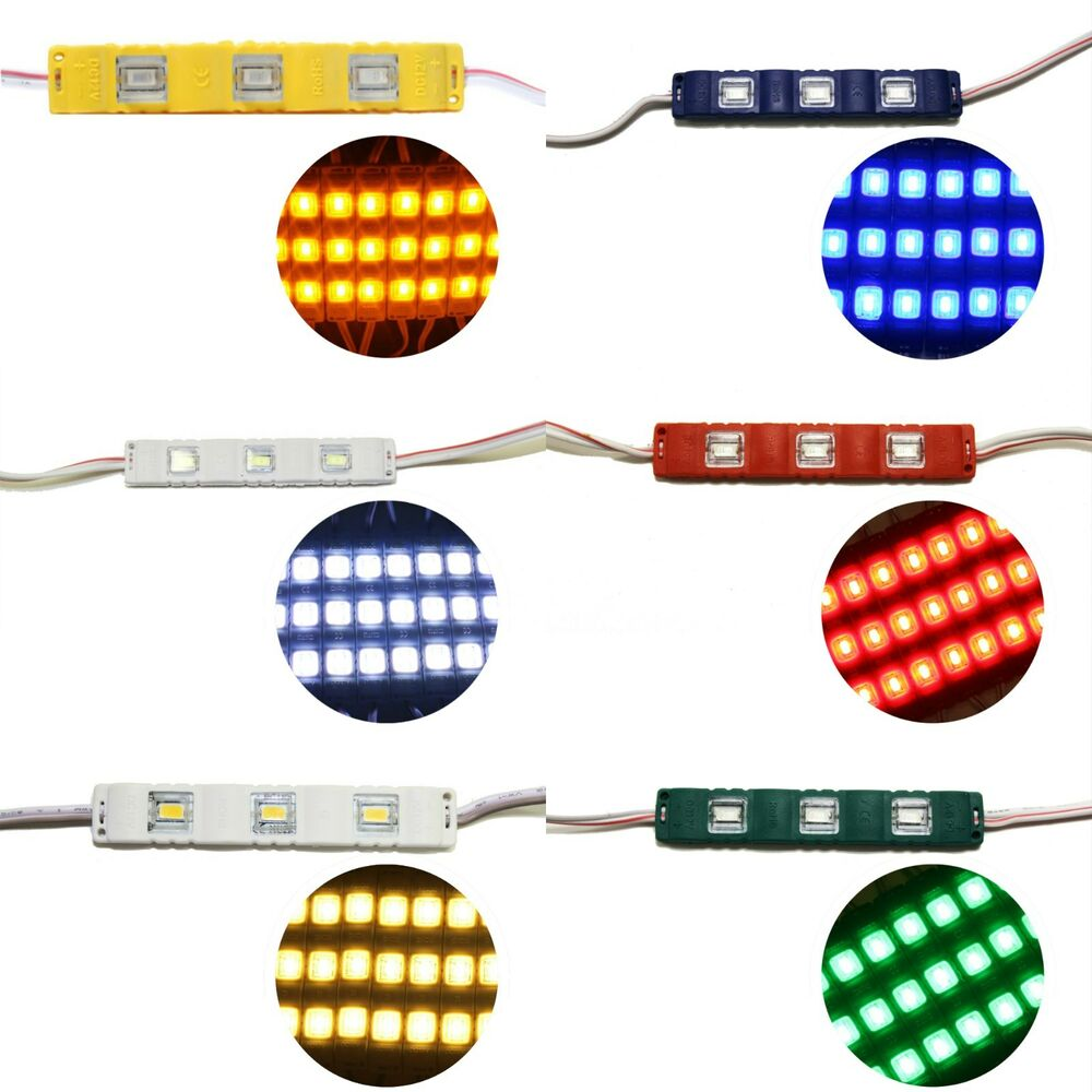 5630 3led Smd Module Injection Waterproof Led Strip Light