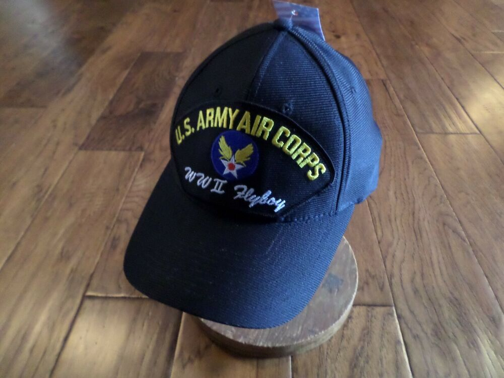 Wwii U S Army Air Corps Flyboy Hat U S Military Official