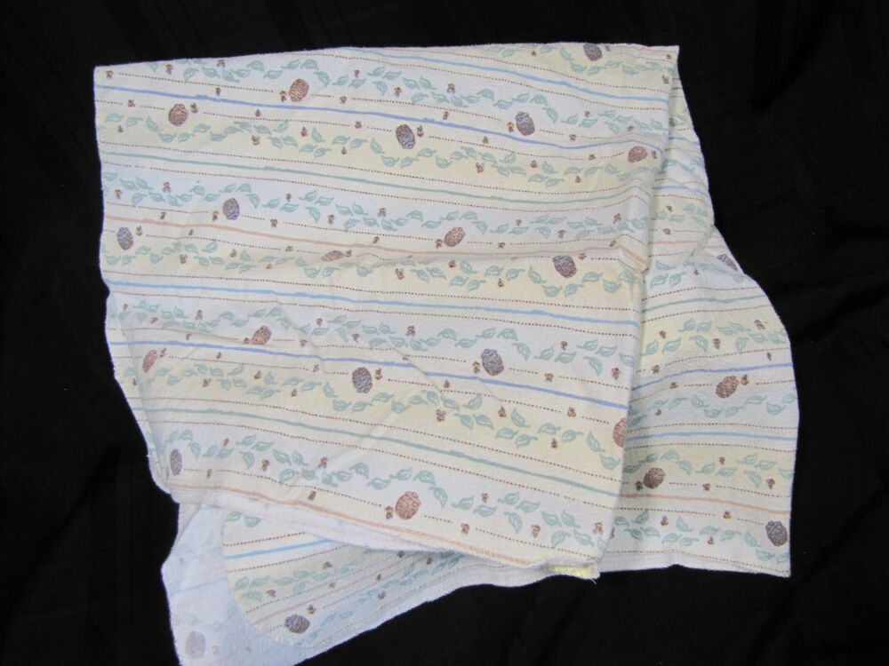 Classic Winnie The Pooh Unisex Cotton Flannel Receiving Swaddle Blanket Baby Ebay