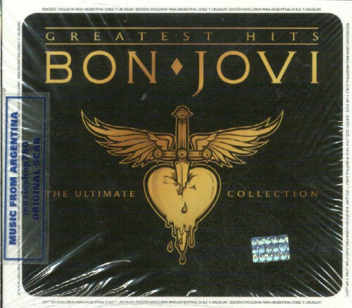 Bon Jovi Ultimate Collection: BON JOVI GREATEST HITS THE ULTIMATE COLLECTION SEALED 2 CD