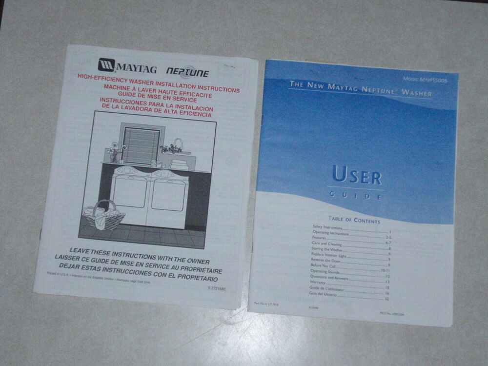 maytag neptune washer user guide and installation inst Maytag M3DH30B2A Maytag Dehumidifier M7DH45B2A Parts