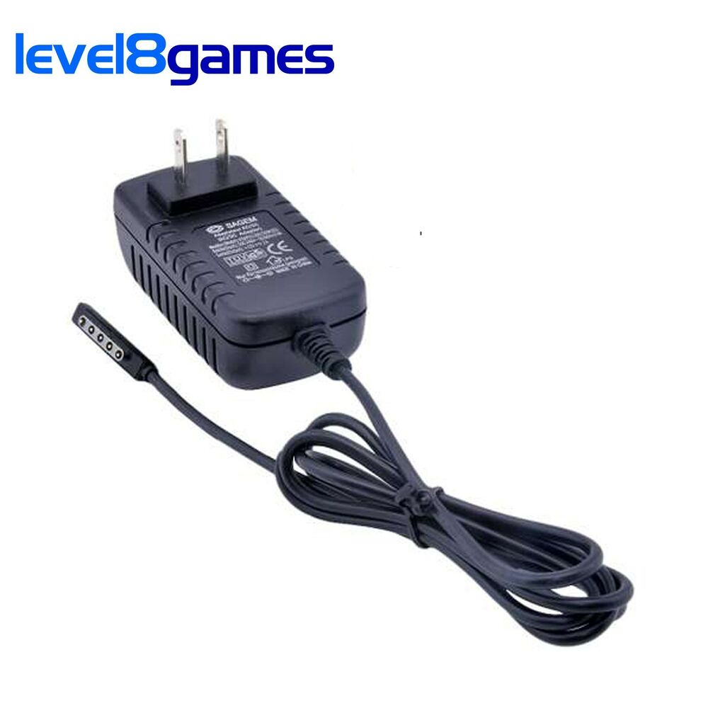 New Wall Ac Charger Adapter Cable Microsoft Surface Rt