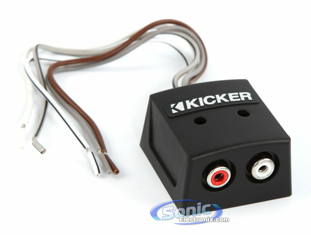 Kicker Kisloc 2 Channel K Series Speaker Cable To Rca