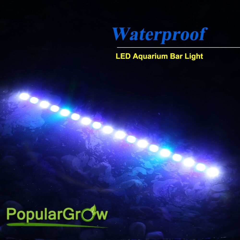 waterproof ip65 54w led aquarium strip light bar for tank. Black Bedroom Furniture Sets. Home Design Ideas