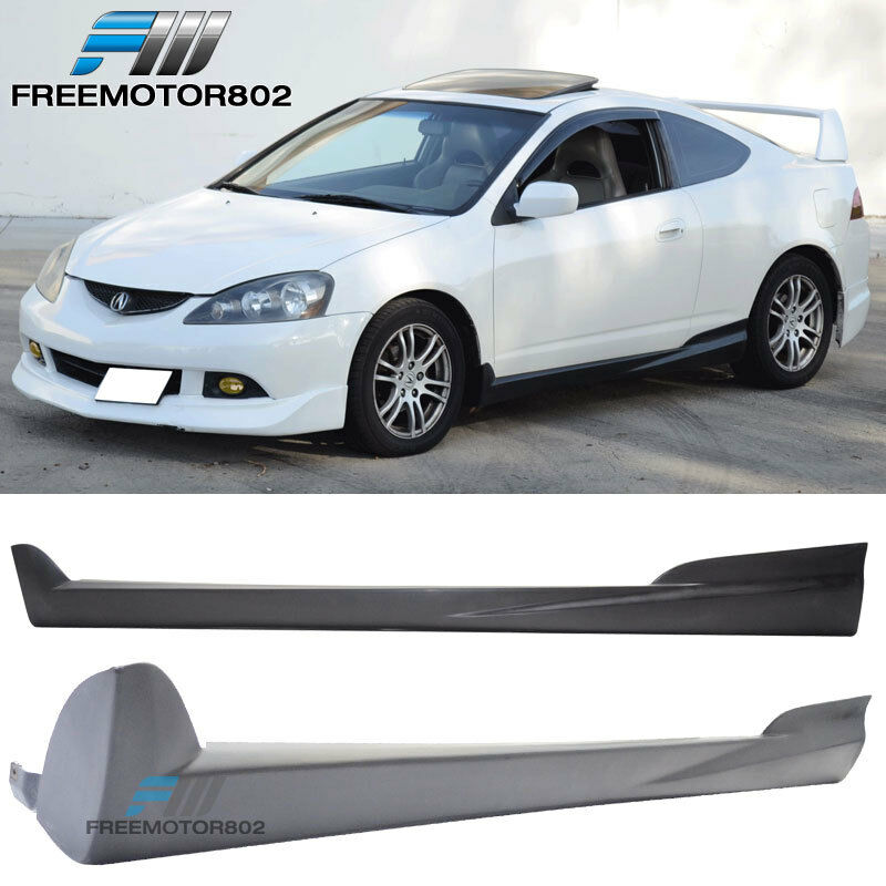 For 02-06 Acura RSX DC5 2DR Mugen Style Side Skirts