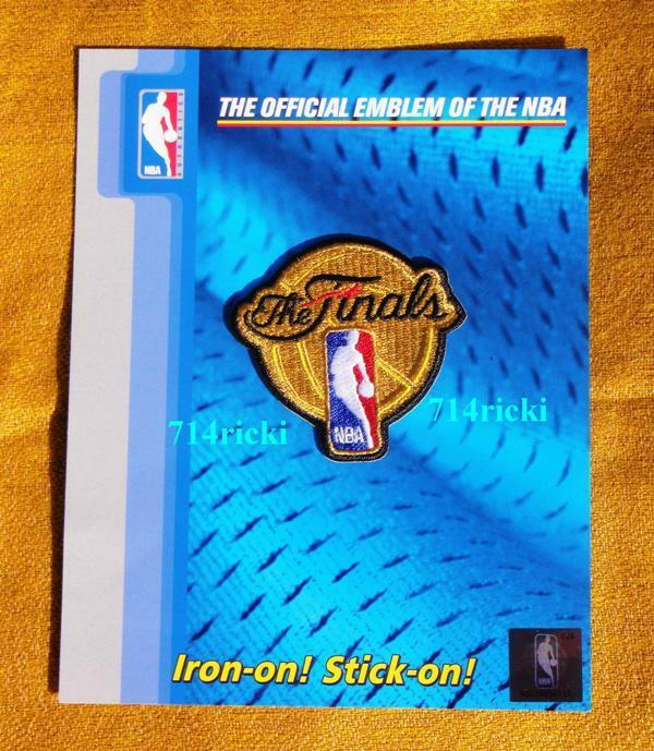 Official 2015 2016 NBA Finals Patch Cleveland Cavaliers Vs