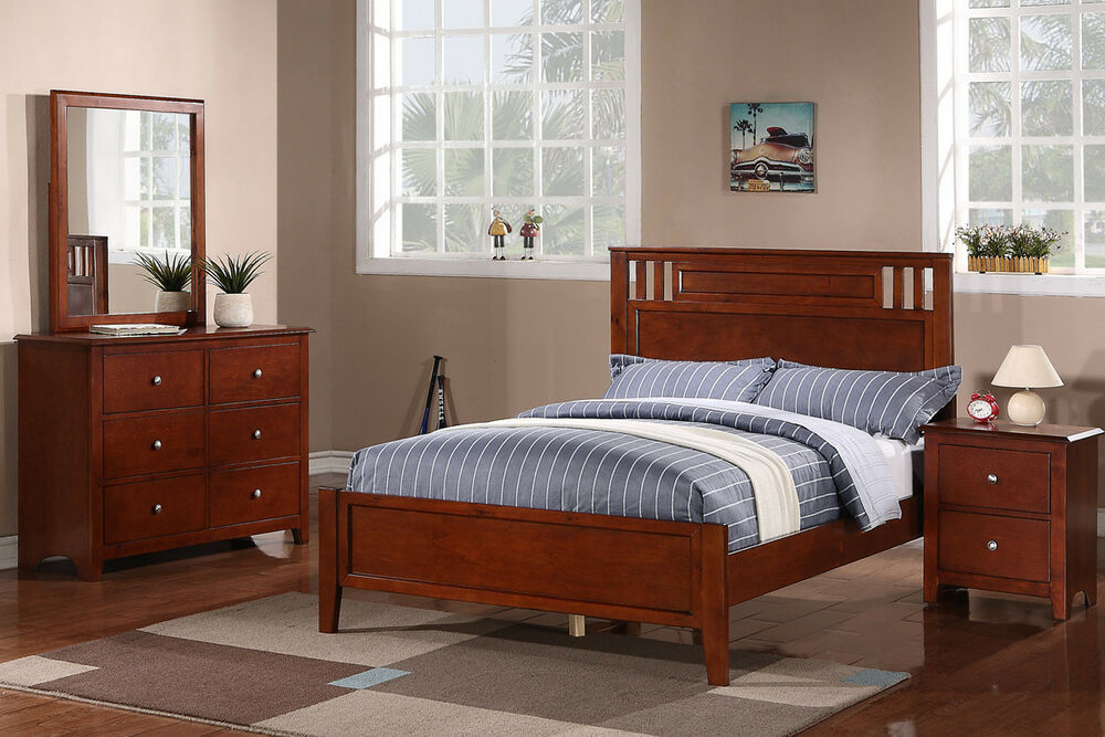 bold style bedroom furniture 3 colors twin full bed frame