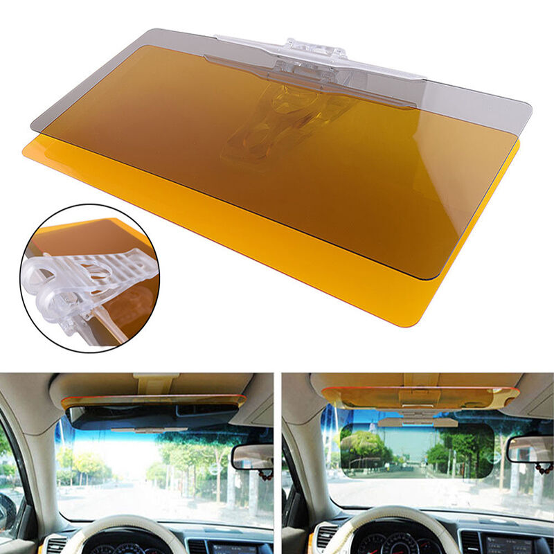 car anti glare glass goggles mirror sunshade sun visor for day night driving ebay. Black Bedroom Furniture Sets. Home Design Ideas