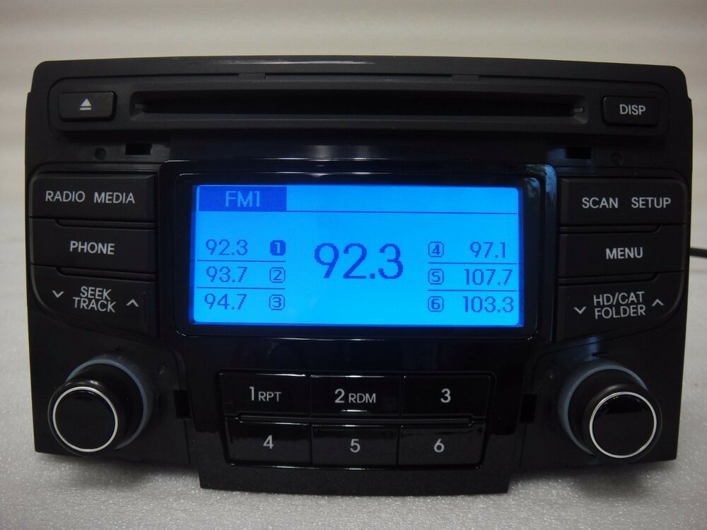 2012 2013 2014 Hyundai Sonata Oem Mp3 Cd Bluetooth