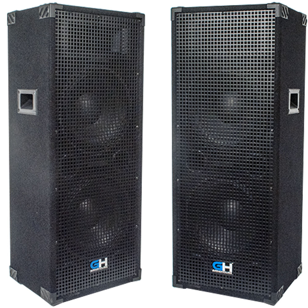 2500w Pair Of Dual 12 Inch Passive Pa Speaker For Bands