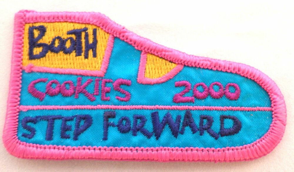 girl scout gs uniform patch cookie booth helper step