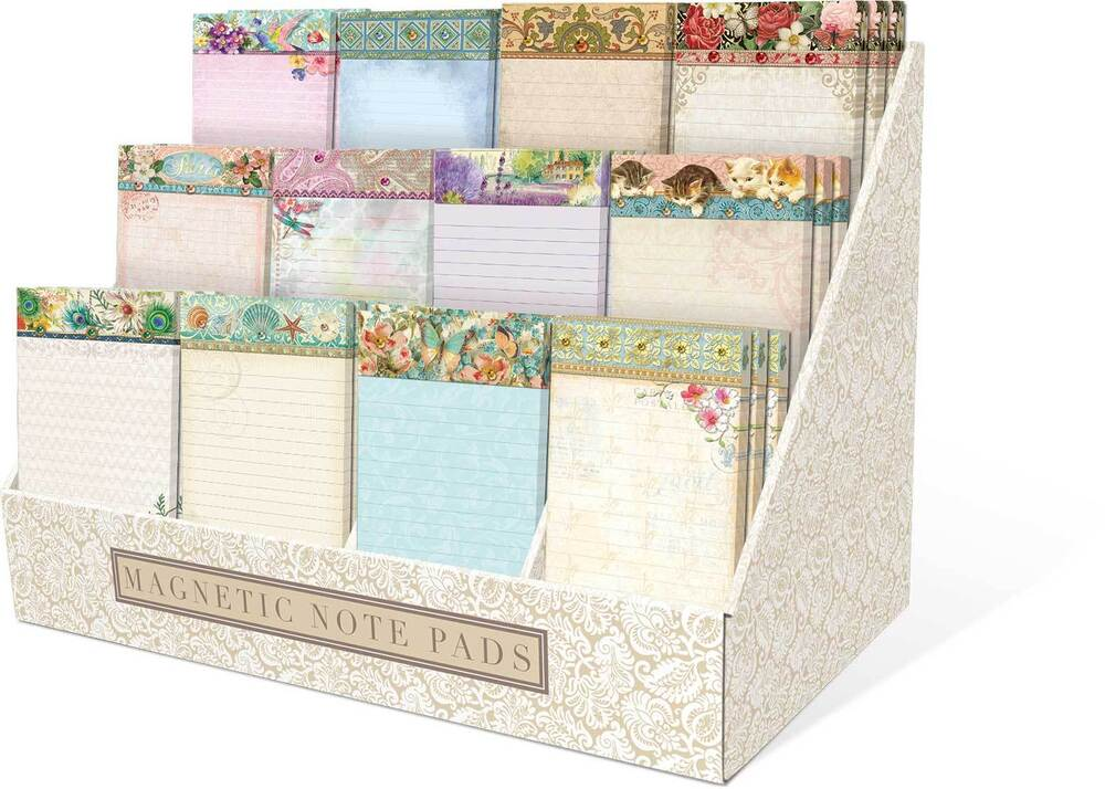 Punch Studio Embellished Magnetic Shopping List Pads