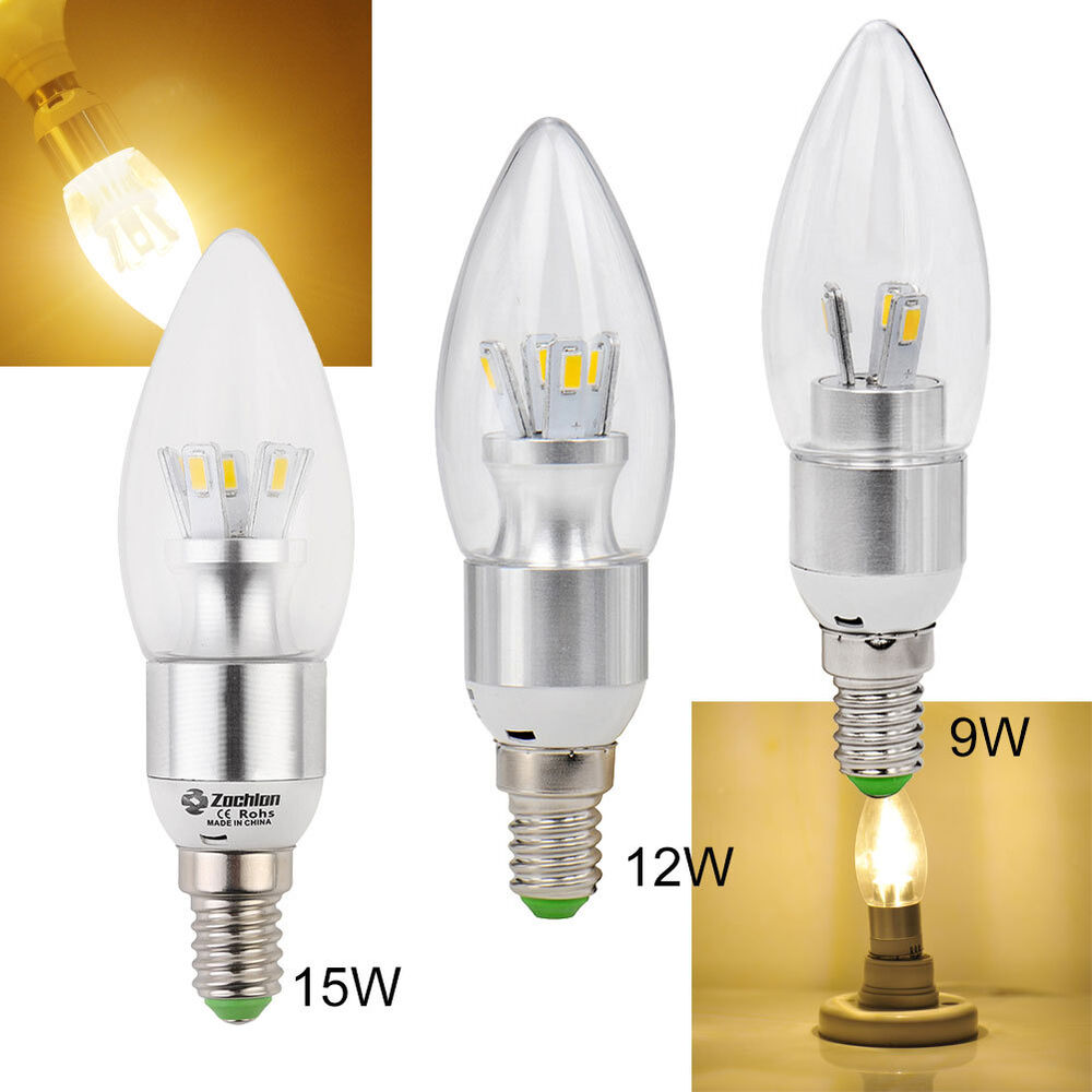 e14 warm white led 9w 12w 15w 5730smd candle light energy saving bulb lamp ebay. Black Bedroom Furniture Sets. Home Design Ideas