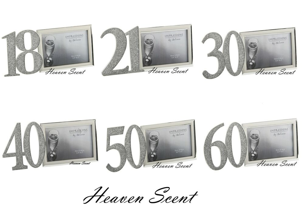 Birthday Photo Frame Gift Ideas Gifts For Her Him 18th 21st 30th 40th 50th 60th