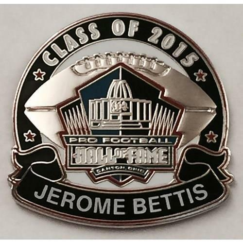 2015 Pro Football Hall Of Fame Pin Jerome Bettis