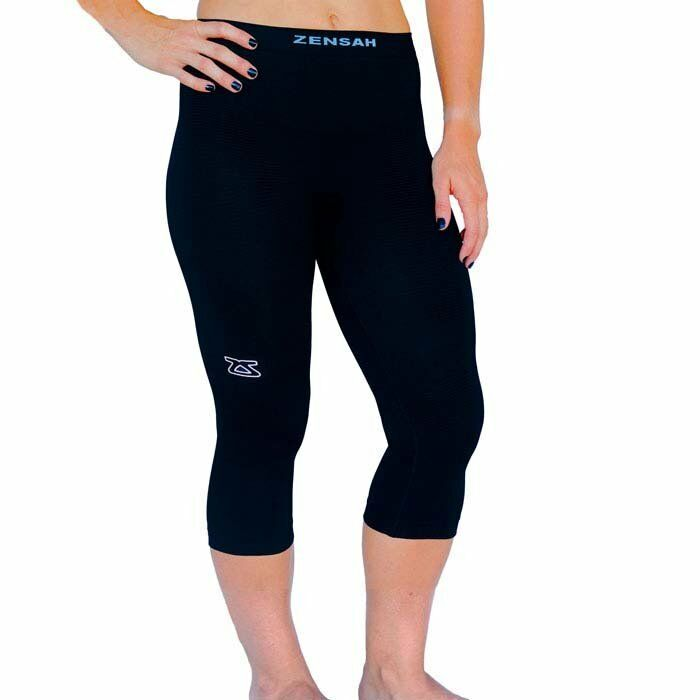 d6a94c69e2 Zensah Recovery Compression 3/4 Tights Running Basketball Baseball NEW S/M    eBay