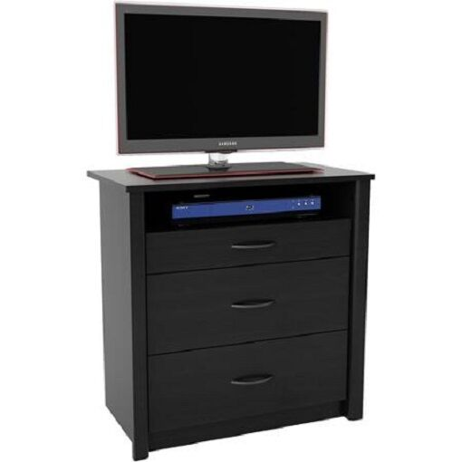 Drawer chest of drawers media dresser tv stand for up to 32 quot sets