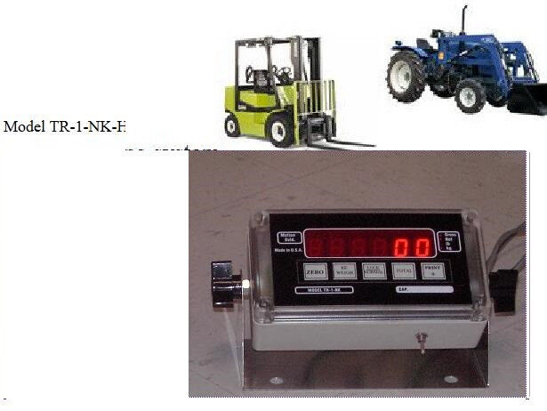 Hydraulic Lift Scale : Forklift hydraulic scale system on board weighing skid