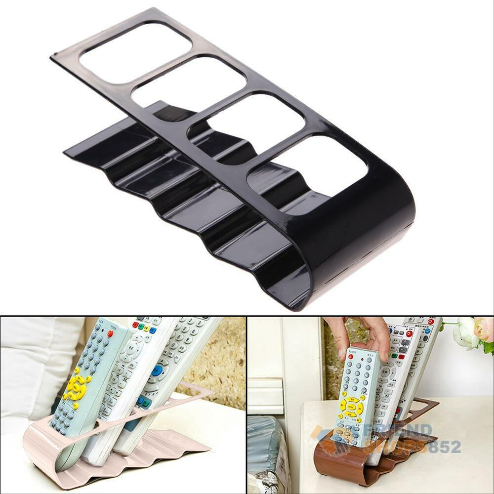 remote control caddy organizer tv dvd vcd step holder stand storage couch chair ebay. Black Bedroom Furniture Sets. Home Design Ideas