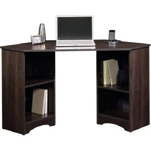 Traditional Study Room: Corner Desk Traditional Computer Home Office Workstation