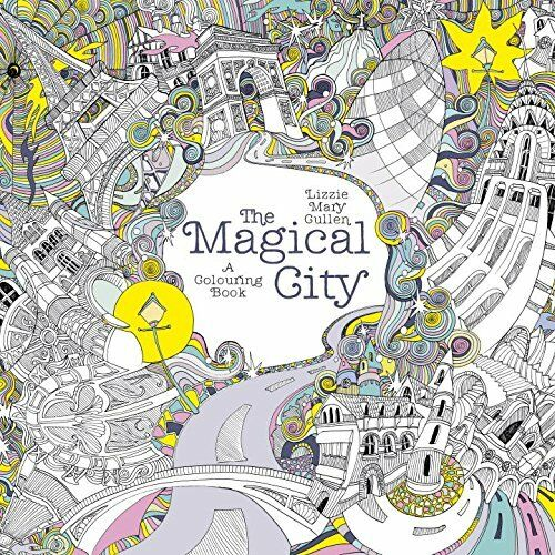 Art Therapy Coloring Book National Bookstore The Magical City Adult Colouring Calm Relaxing