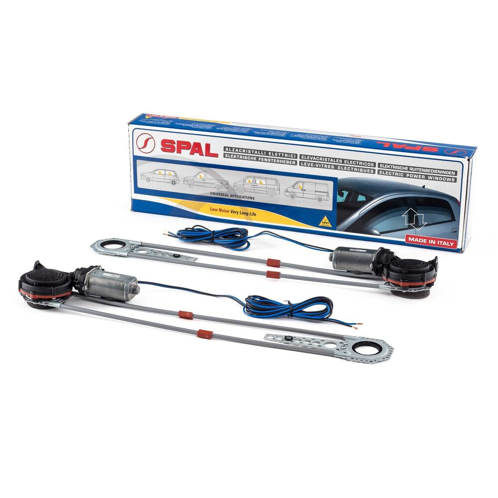 Spal Universal Deluxe Manual To Electric Car/Vehicle
