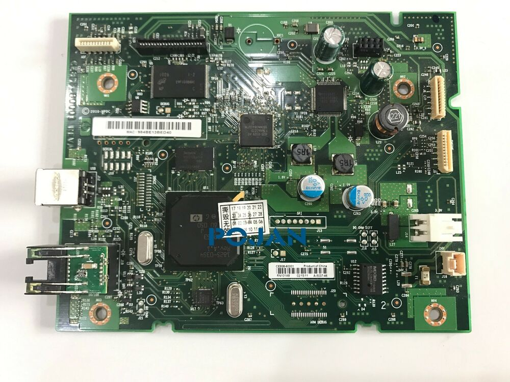 Ce938 60001 For Hp Color Laserjet M175 Formatter Board