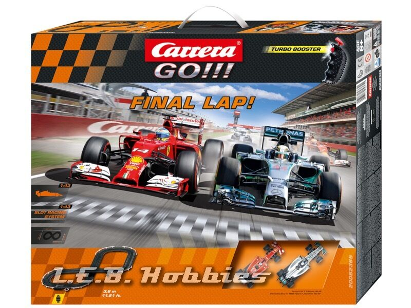 carrera go final lap 1 43 analog slot car race set. Black Bedroom Furniture Sets. Home Design Ideas