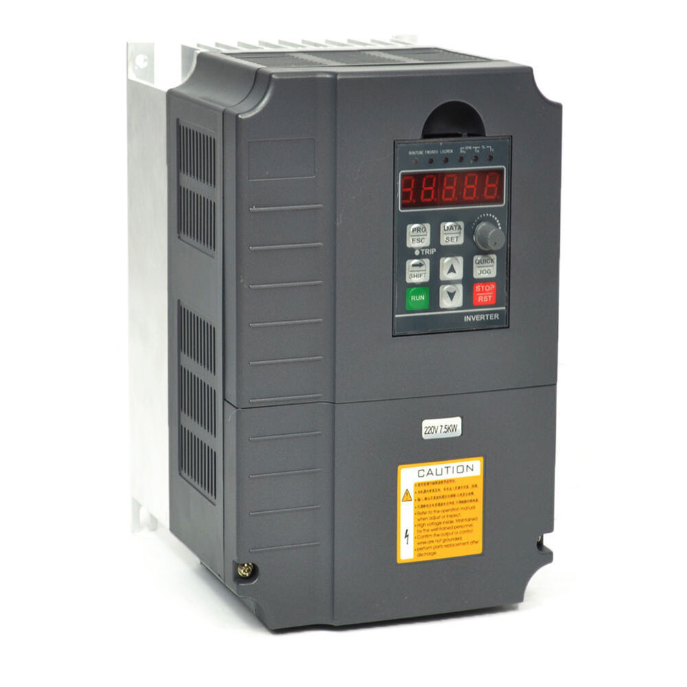 New 1 5kw 2hp Vfd 7a 220v 1 Phase Variable Speed Drive Vsd