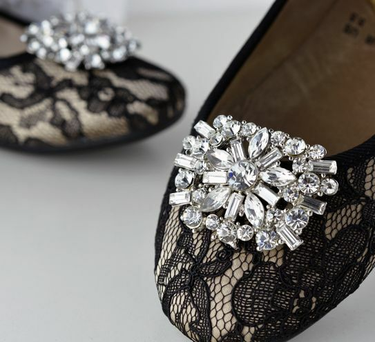 Pearl Shoe Clips Uk