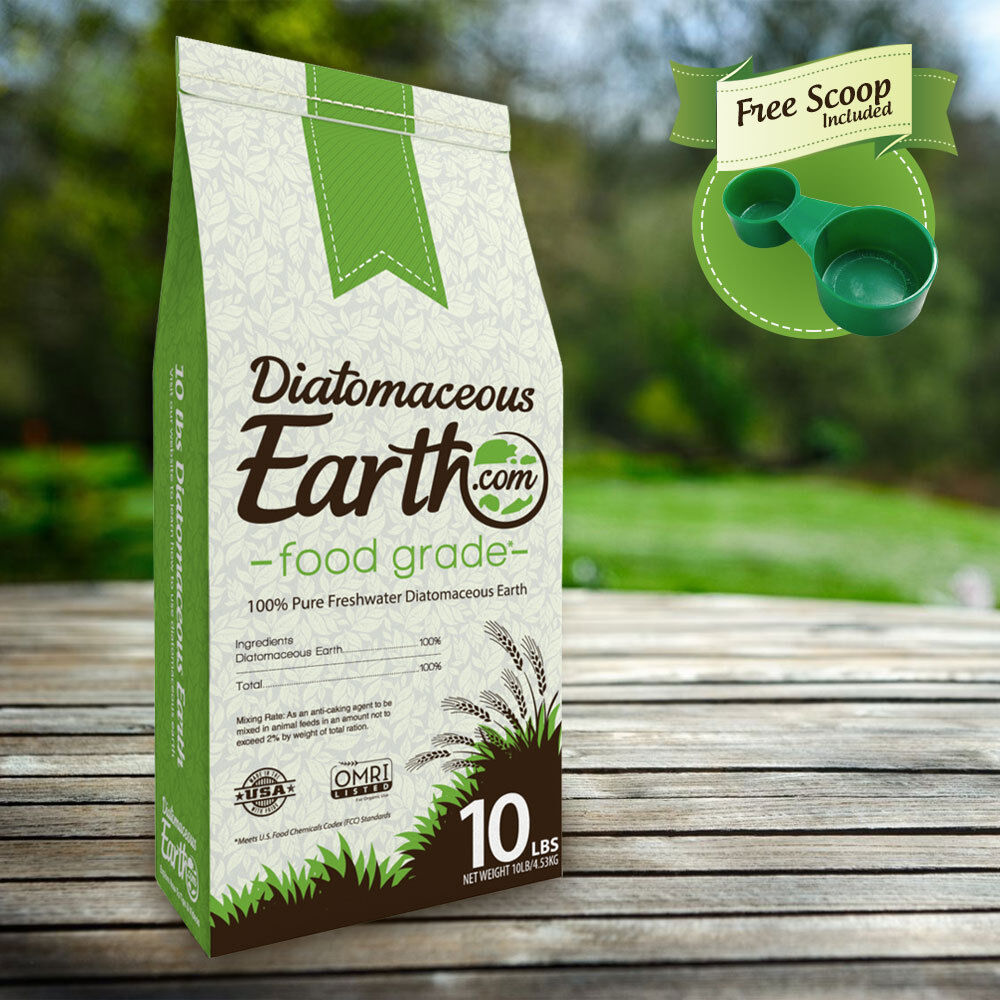 100 Food Grade Diatomaceous Earth De 10 Lbs By