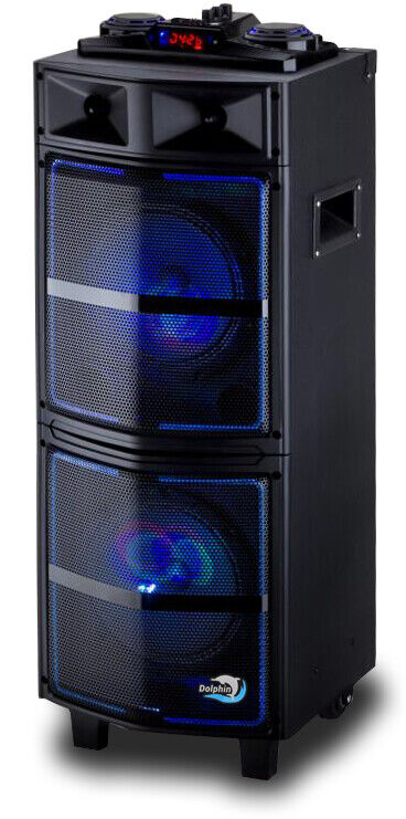 Dolphin Sp 64bt Bluetooth Party Speaker System Aux Usb