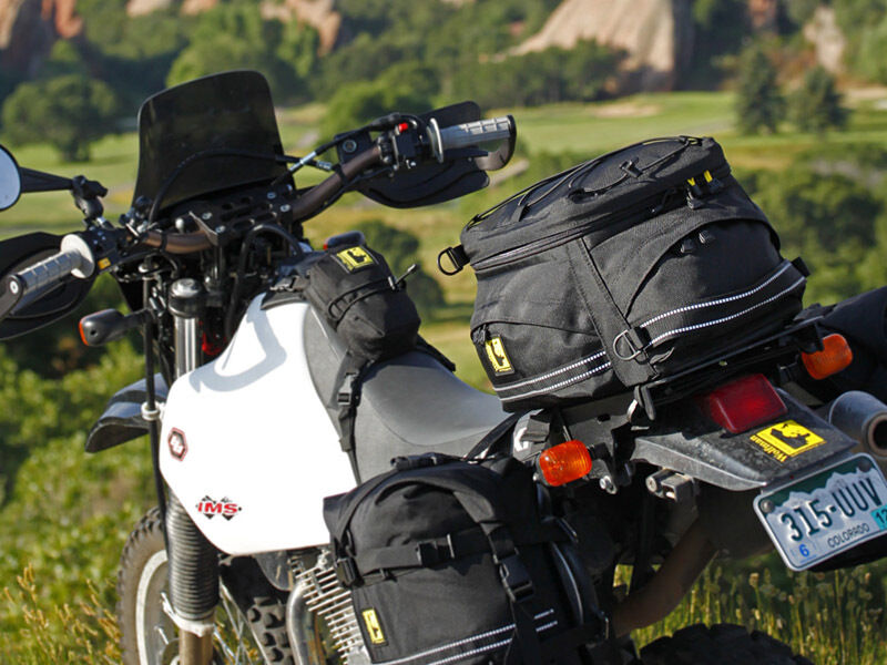 Wolfman Expandable Wolf Tail Bag M303 Perfect For Bmw